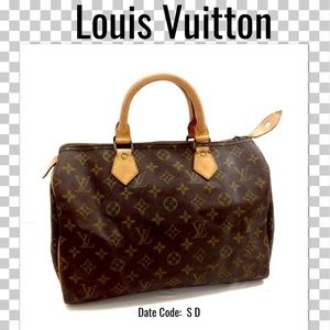 Louis Vuitton Satchel bag boston bag Speedy 30